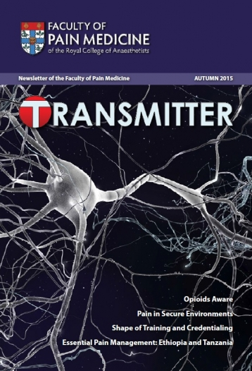 Transmitter Autumn 2015 cover