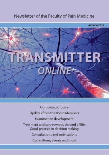 Transmitter Autumn 2010 cover