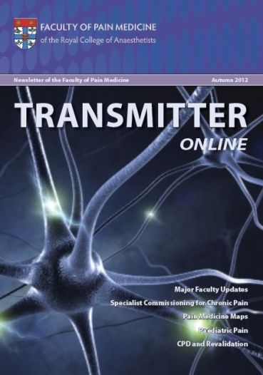 Transmitter Autumn 2012 cover